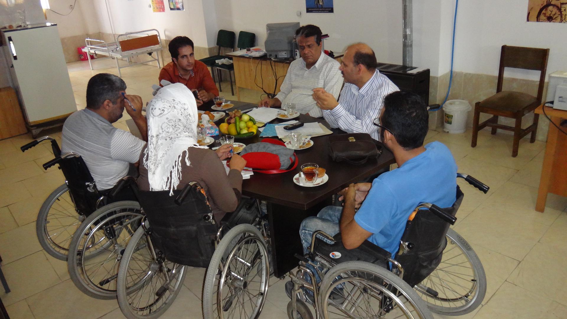 دفتر ازدواج مازندران انجمن معلولین ضایعه نخاعی استان مازندران
